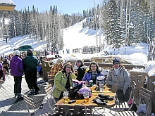 Picture of skiers at Park City
