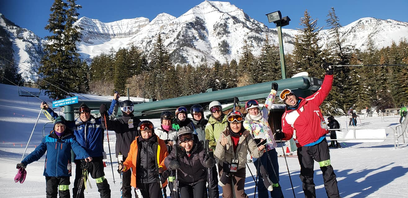 Our group at Sundance base