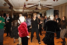 Picture: People dancing at holiday party